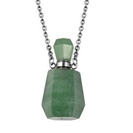 51 Ct Green Aventurine Love Potion Necklace 18 Inch