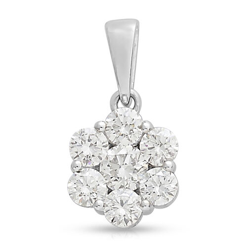 RHAPSODY 950 Platinum IGI Certified (VS/E-F) Diamond (Rnd) Pendant 1.000 Ct.