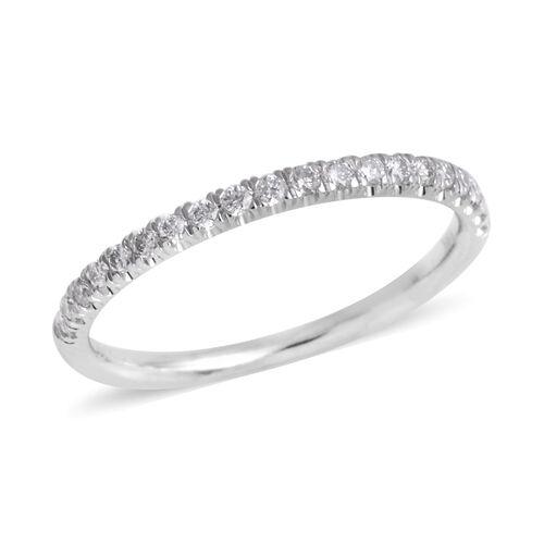 ILIANA 0.25 Ct Diamond Eternity Band Ring in 14K White Gold