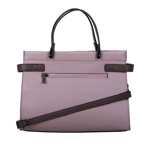 Bulaggi Collection Peony Handbag - Dark Brown and Multi Colour