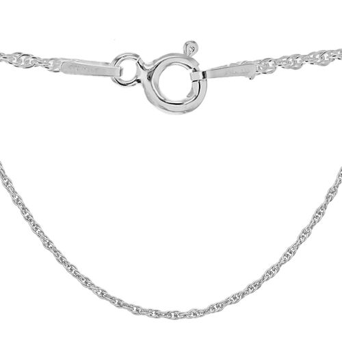 Sterling Silver Prince of Wales Chain (Size 16)