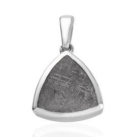Meteorite (Trl 12mm) Pendant in Platinum Overlay Sterling Silver 10.00 Ct.