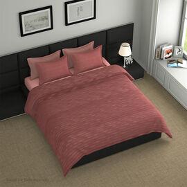 7 Piece Set -  Bedding Set including 1 Duvet with Duvet Cover (220x225cm), 2 Pillows with Pillow Cov