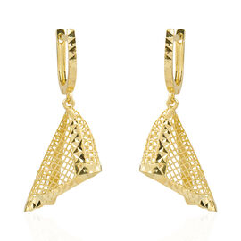 Limited Edition- Ottoman Treasure 9K Yellow Gold Earring, Gold Weight 3.00 Grams