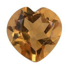 AA Citrine Heart 5mm