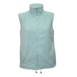 Pure and Natural Mint Colour Fleece Lined Gilet (Size XL, 20-22)