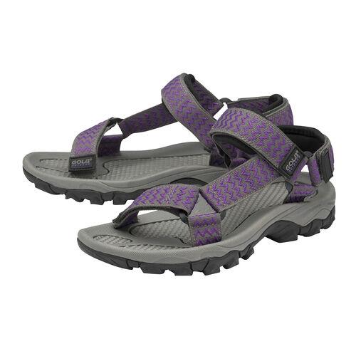 Gola Blaze Walking Sandals (Size 4) - Purple and Grey