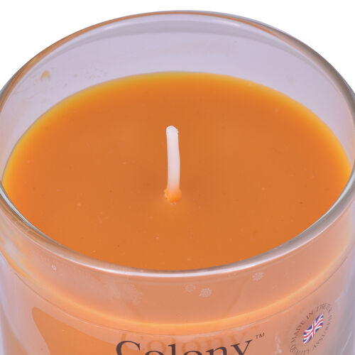 Wax Lyrical Small Glass Candle Cedarwood and Amber (132g)