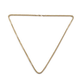 Royal Bali Chain Necklace in 9K Gold 8.91 Grams 20 Inch