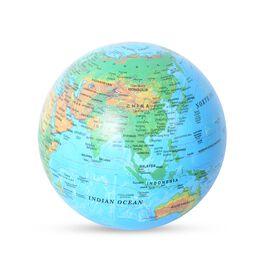 Revolving Globe with LED Light - Blue