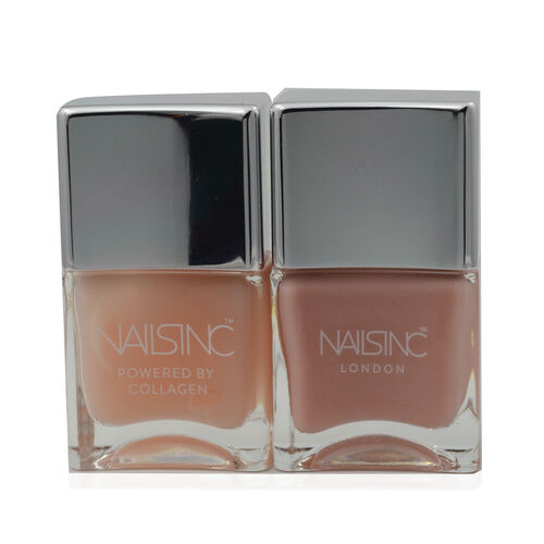 Nails Inc: Overnight Detox Repair Mask with Collagen - 14ml & Thirsty Nails - 14ml
