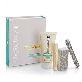 Set of 4 - Obey Your Body: Ocean Manicure Nail Set (Incl. Nail & Cuticle Serum - 15ml, Intensive Han