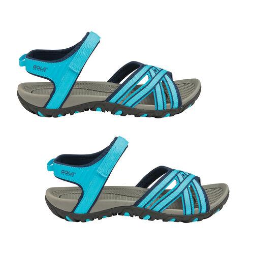 Gola Safed Walking Sandals (Size 3) - Blue and Navy