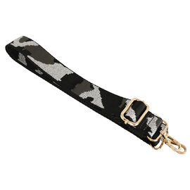 Kris Ana Camo Silver Detachable & Adjustable Bag Strap (L-120 Cm)