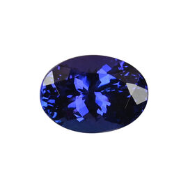 AAAA Tanzanite Oval 12.39X8.94X7.26 Faceted 5.72 Ct.