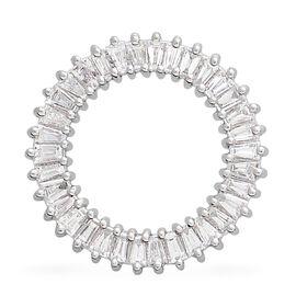 RHAPSODY 0.50 Ct Diamond Circle of Life Pendant in Platinum IGI Certified VS EF