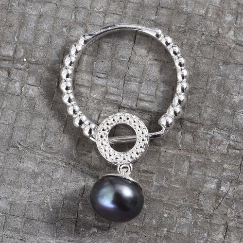 Freshwater Peacock Pearl Ring or Pendant in Sterling Silver