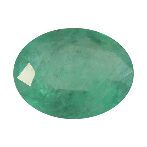 AA Emerald Oval 8.09x6.14x4.13 Faceted 1.28 Cts