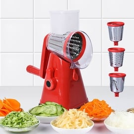 3 in 1 Easyway Vegetable and Fruit Slicer with One Slicing, Shredding and Grating Blade (Size 18x14x