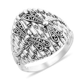 Royal Bali Collection Dragonfly Ring in Sterling Silver