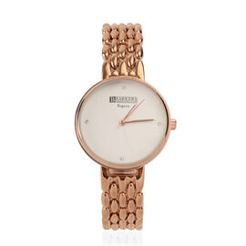 Barkers of Kensington - Regatta Watch With SWAROVSKI Crystal  - White
