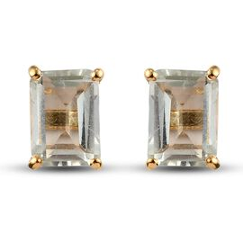 14K Gold Overlay Earring  10.200  Ct.