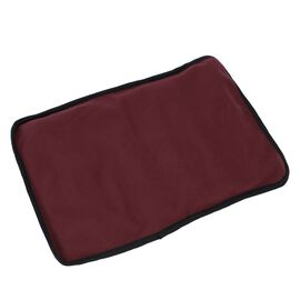 Super Auction - Shungite Mat with Cover (Size 127x10cm) weight - 1.01 lbs - Red