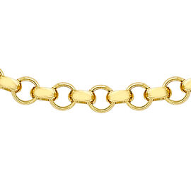 9K Yellow Gold Belcher Chain (Size 30), Gold wt 5.20 Gms