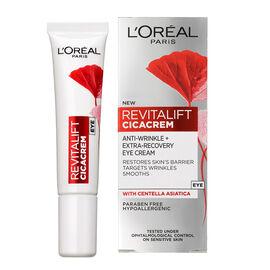 LOreal: Revitalift Cica Cream Eye - 15ml