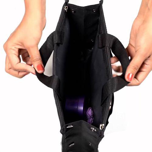 100% Waterproof Organiser Bag (Size 29x9x20cm) - Black