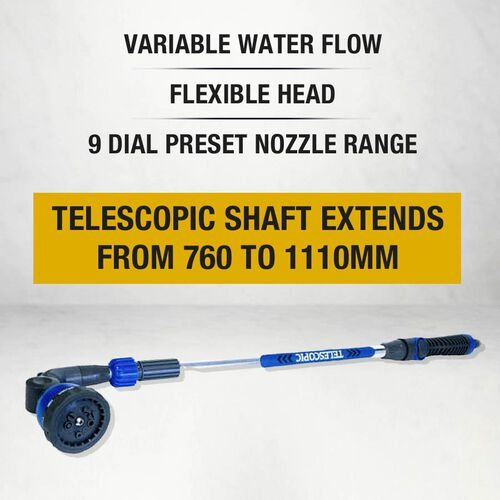ROLSON 9 Function Telescopic Water Lance (71x13x7 Cm)