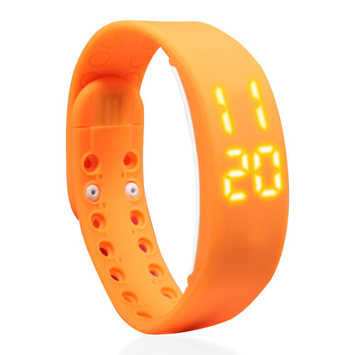LCD Smart Watch - Orange