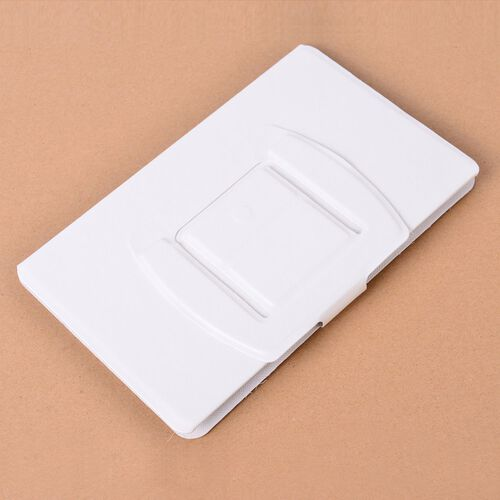 White Colour Portable Smartphone Screen Magnifier (Up to 4 Times) with Foldable Stand (Size 19x11.5x0.5 Cm)