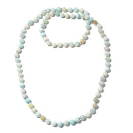 One Time Deal- Multi Colour Amazonite Beads Necklace (Size 34)  342.00 Ct.
