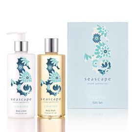 Seascape: Unwind Bath & Body Gift Set