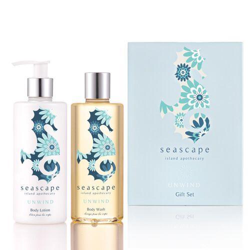 Seascape: Unwind Bath & Body Gift Set