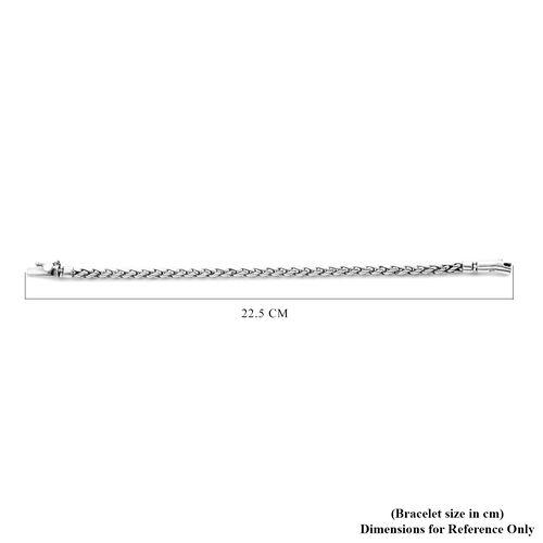 Sterling Silver Bracelet (Size 7.5), Silver wt 22.00 Gms