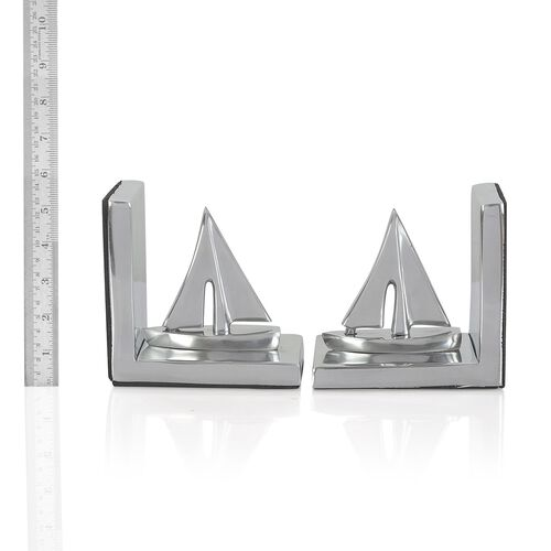 Home Decor - Boat Shape Aluminium Bookend