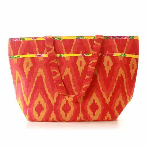 Fancy Tangerine Colour Bag (Size 47x30 Cm)