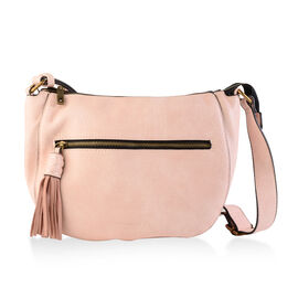 Bulaggi Collection - Ella Crossbody Bag (Size 22x24x7 Cm) - Pink
