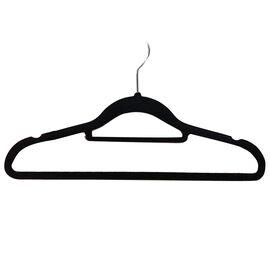 Set of 50 - Flocking Hangers in Black