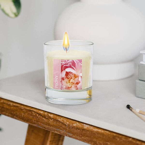 WAX LYRICAL 2 Piece Set - Peony Reed 100 ml Diffuser & 190g Candle Gift Set