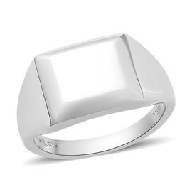 RHAPSODY 950 Platinum Signet Ring, Platinum wt. 9.90 Gms
