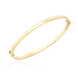 One Time Deal- 9K Yellow Gold Bangle (Size 7)