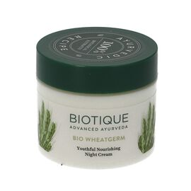 Biotique: Bio Wheatgerm Youthful Nourishing Night Cream - 50g