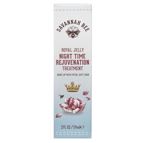 Savannah Bee Royal Jelly Night time Rejuvenation Treatment 2oz  -   will be sent in 4-5 working days 59ml