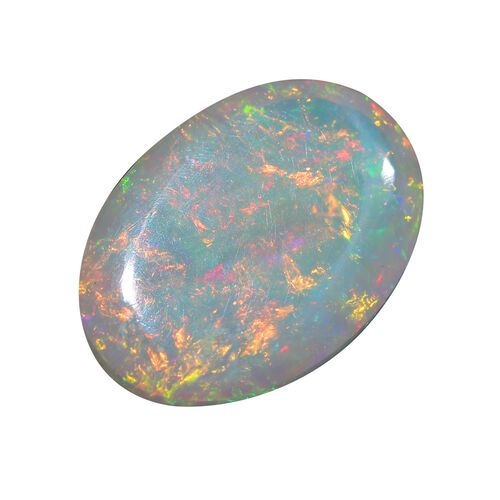 AAA Ethiopian Opal Oval Free Cabochon 30.96 Cts