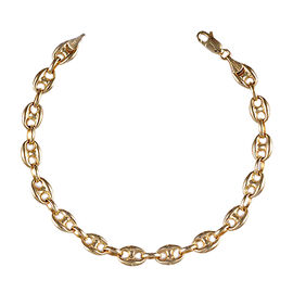 JCK Vegas Mariner Link Necklace in 9K Gold 13.12 Grams 20 Inch