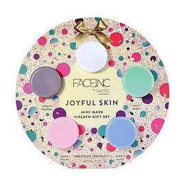 Nails Inc: Joyful Skin Mini Mask Set (Incl. Hydro Night Mask, Purifying Mask, Hydrating Serum, Brigh
