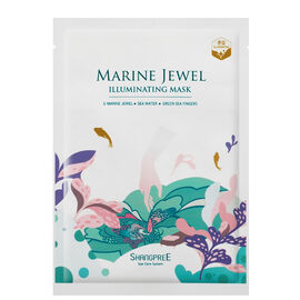 Shangpree: Marine Jewel Illuminating Mask (Set of 5 Sheet Masks)
